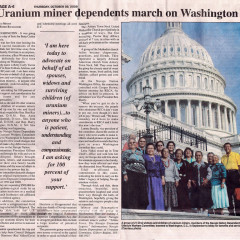 The Navajo Nation Dependents of Uranium Workers Committee